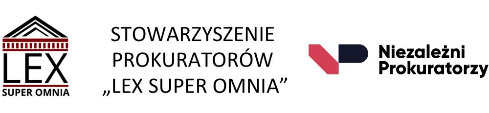 """Stowarzyszenie Prokuratorów """"Lex super omnia"""""""
